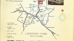 loction map