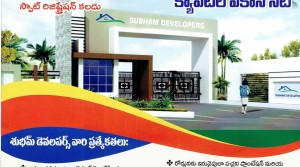 OPEN PLATS IN SUBHAM DEVELOPERS AT AMARAVATHI SMART CITY