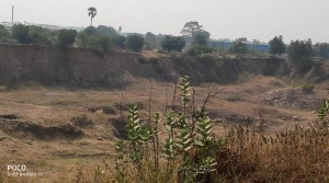 10.5 open land at indrakaran village@Rudram