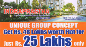 FLAT FOR SALE in Indraprastha apartments @ ISNAPUR