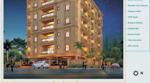 3BHK LUXURY APARTMENT @ SAINIKIPURI