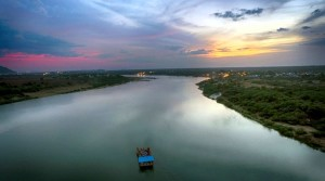 Alakananda-RiverFront-Boat-on-Krishna-River-Sunset-Big-1536x864