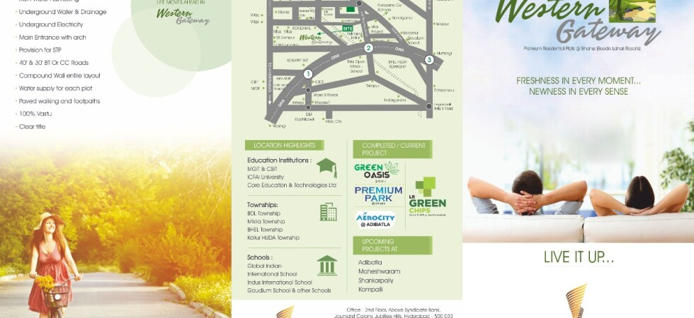 Plot for Sale in Western Gateway at Kollur